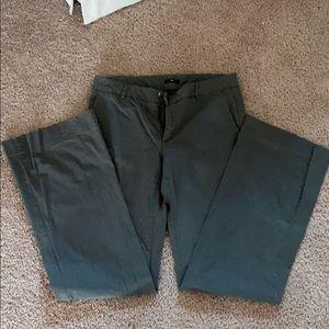 Gap Khaki Wide Leg Pants